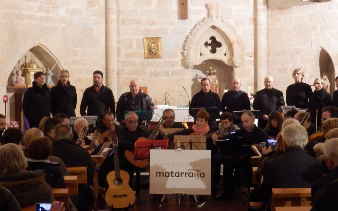 La iglesia de Ráfales acogió el concierto de clausura de las jornadas
