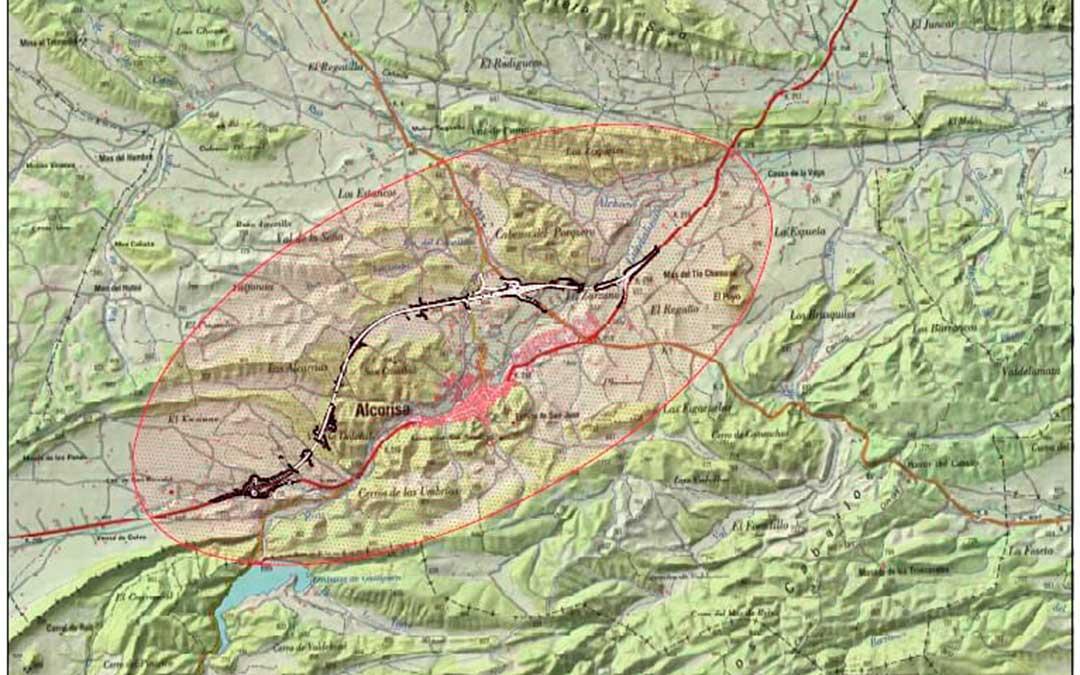 mapa-tramo-variante-n211-n-211-alcorisa