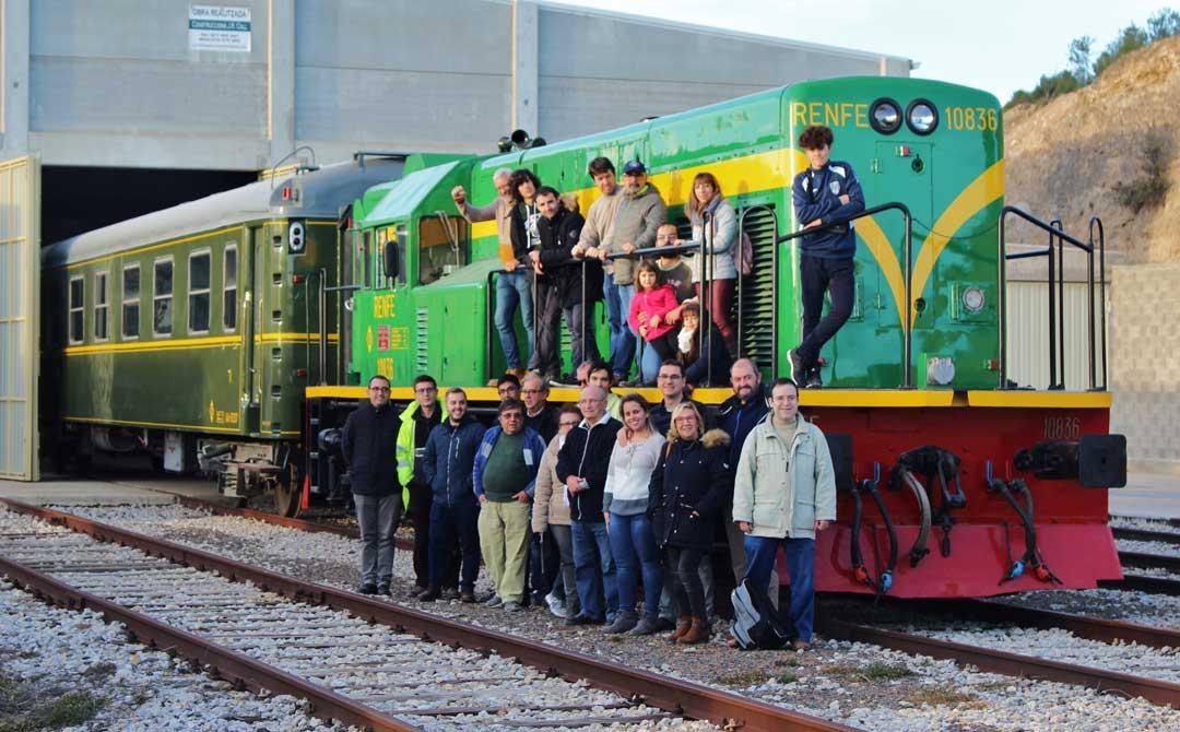 De todos los trabajos se encarga la Fundació per a la Preservació del Parimoni Históric Ferroviari Industrial, que también cuenta con un museo del ferrocarril en Móra la Nova.