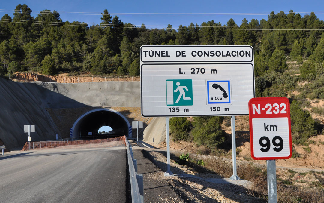 La vía tendrá dos túneles a lo largo de todo el recorrido