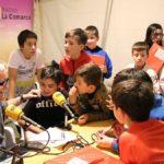 Los más pequeños participaron en el programa especial de Radio La Comarca