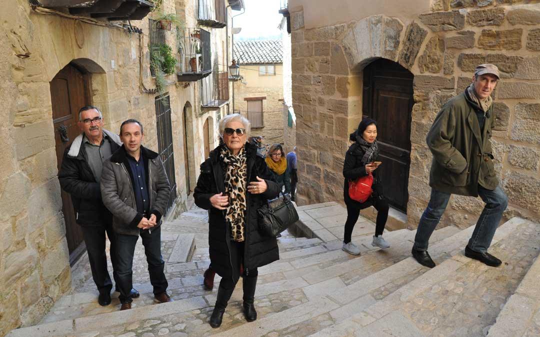 valderrobres turistas puente