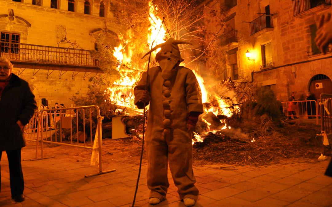 Los Diablets volvieron un día más a ser los protagonistas en La Fresneda