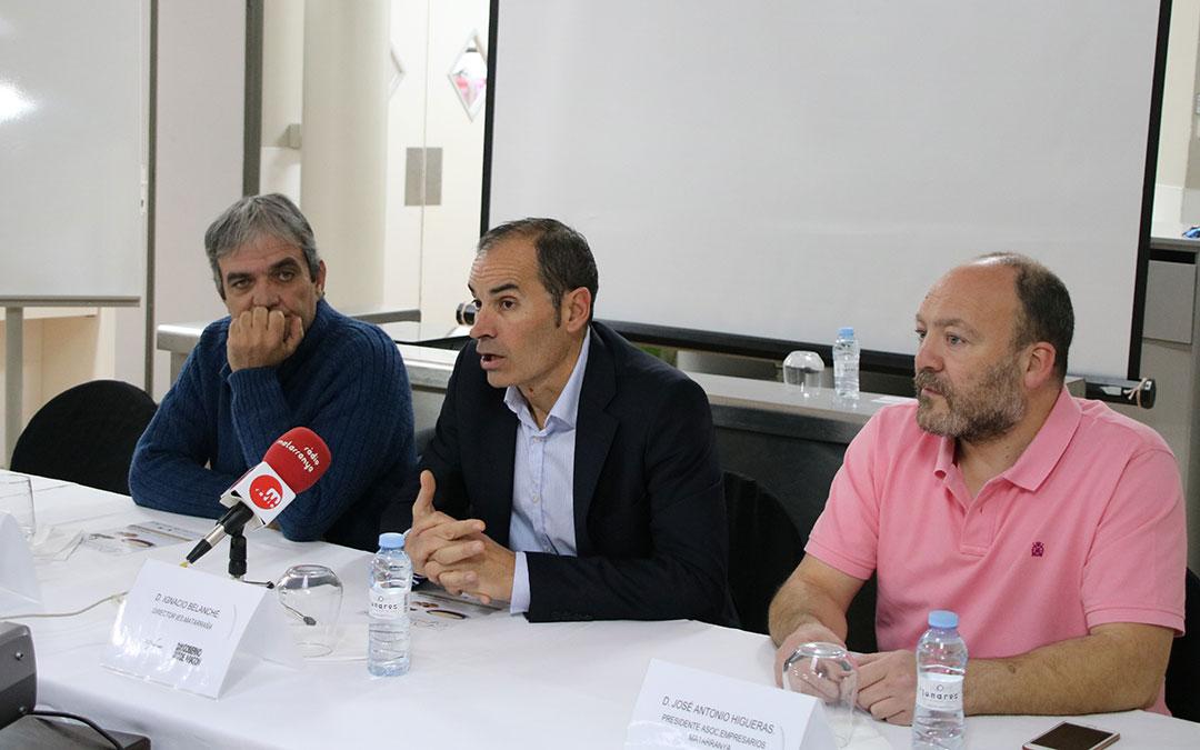 Rafael Marti Ignacio Belanche Jose Antonio Higueras jornadas gastronomicas matarrana