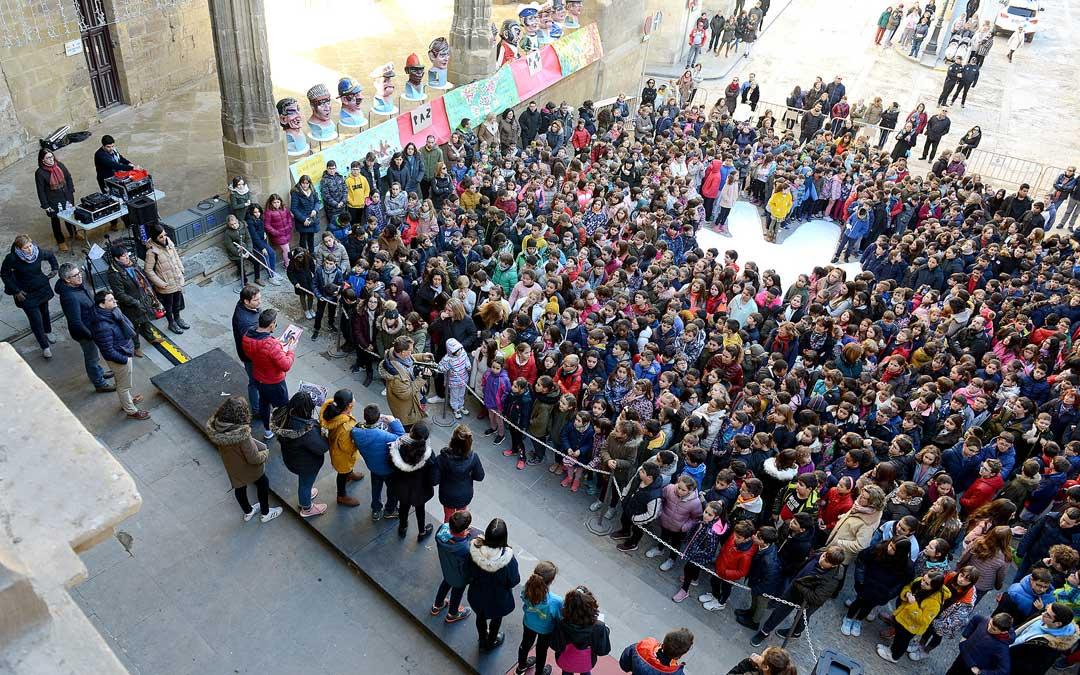 Celebración del Día de la Paz en Alcañiz