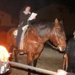 Imagen de la festividad de San Antonio en La Iglesuela del Cid.