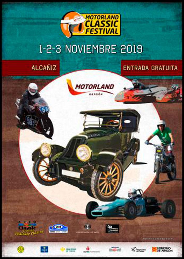 MotorLand Classic Festival y Feria Autoclassic en Alcañiz