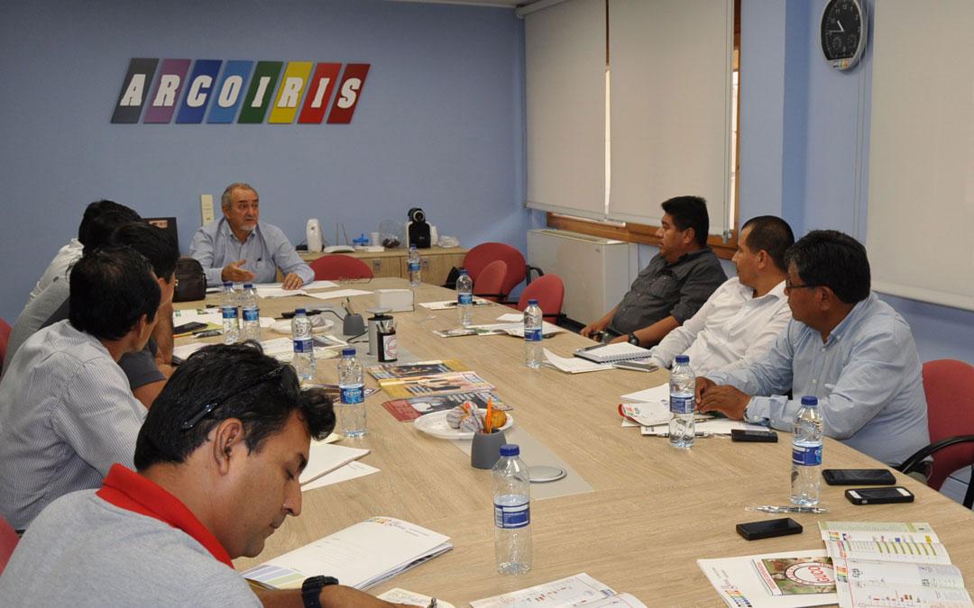 Imagen de 2018 durante una visita de una delegación peruana a través de Acodea