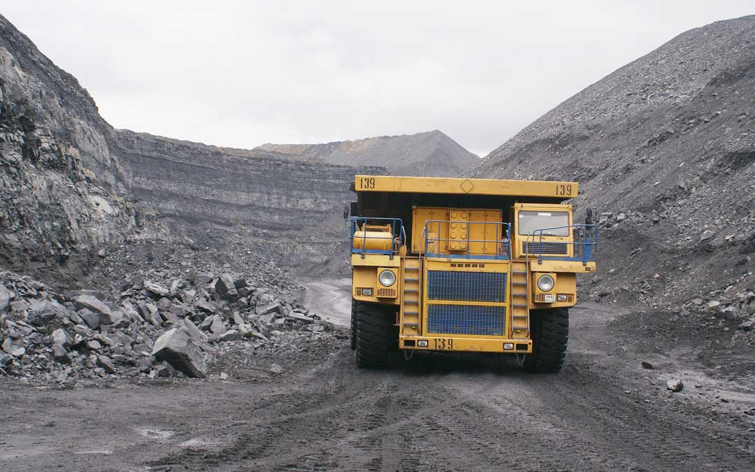 Imagen de archivo de una mina de carbón.