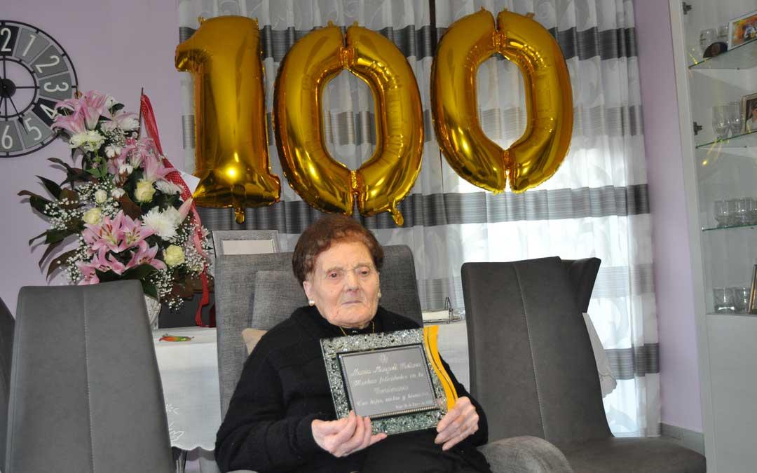 María Margelí Retavé ha cumplido 100 años