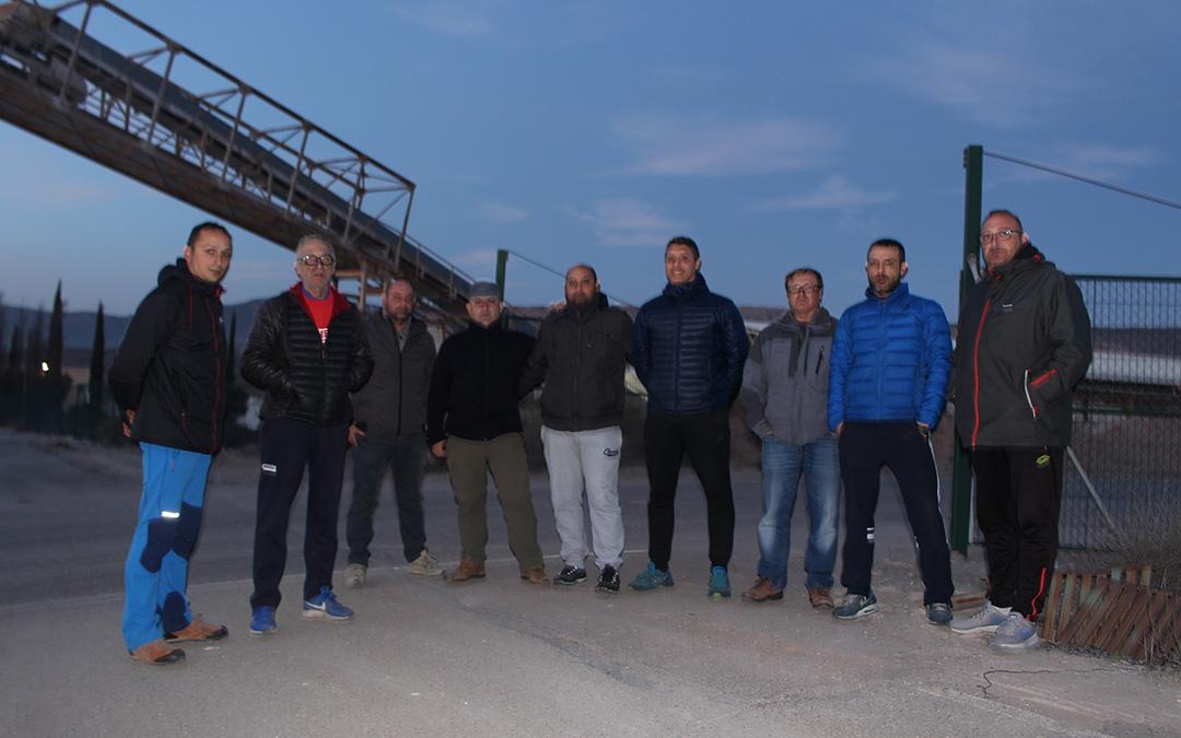 Los trabajadores de la mina Santa María se han mostrado sorprendidos con la decisión de Samca.