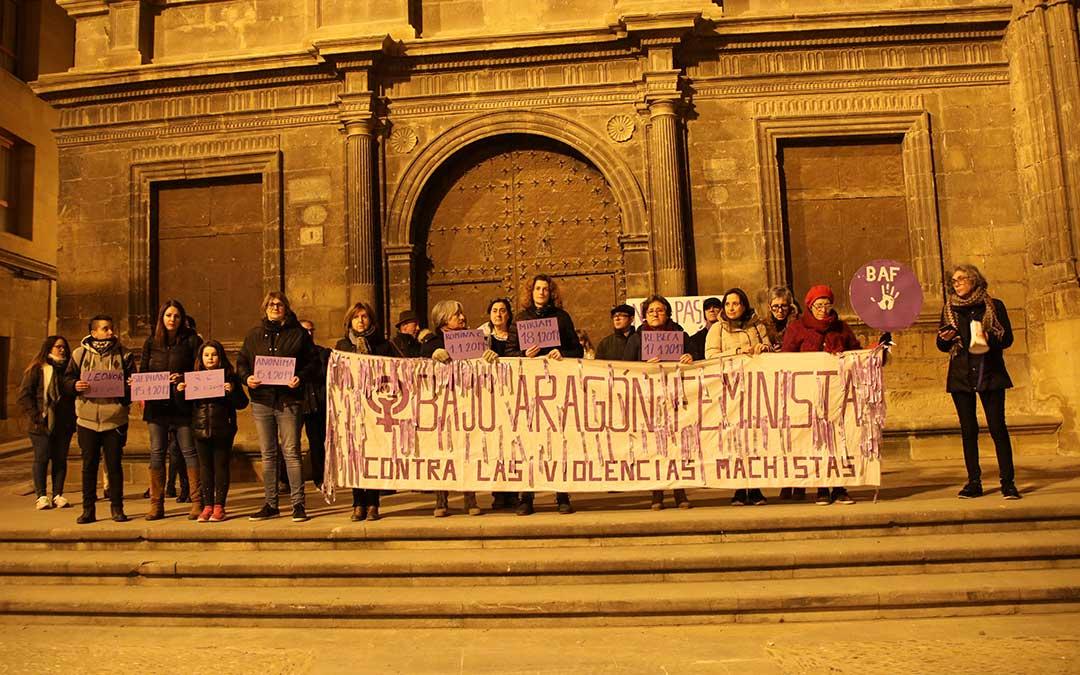 concentracion bajo aragon feminista alcaniz