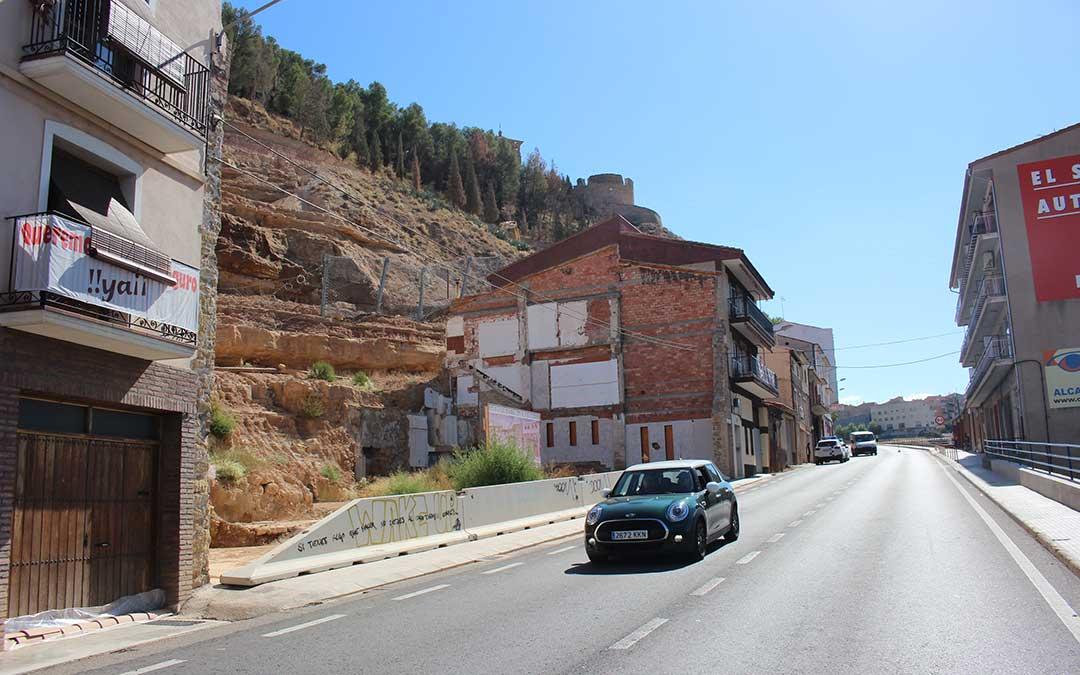 Zona del Corcho donde habria tenido lugar el intento de secuestro