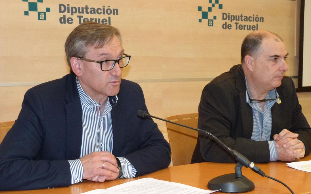 Joaquín Juste, vicepresidente de la DPT, fue el encargado de presentar las ayudas para la reparación de instalaciones ganaderas municipales