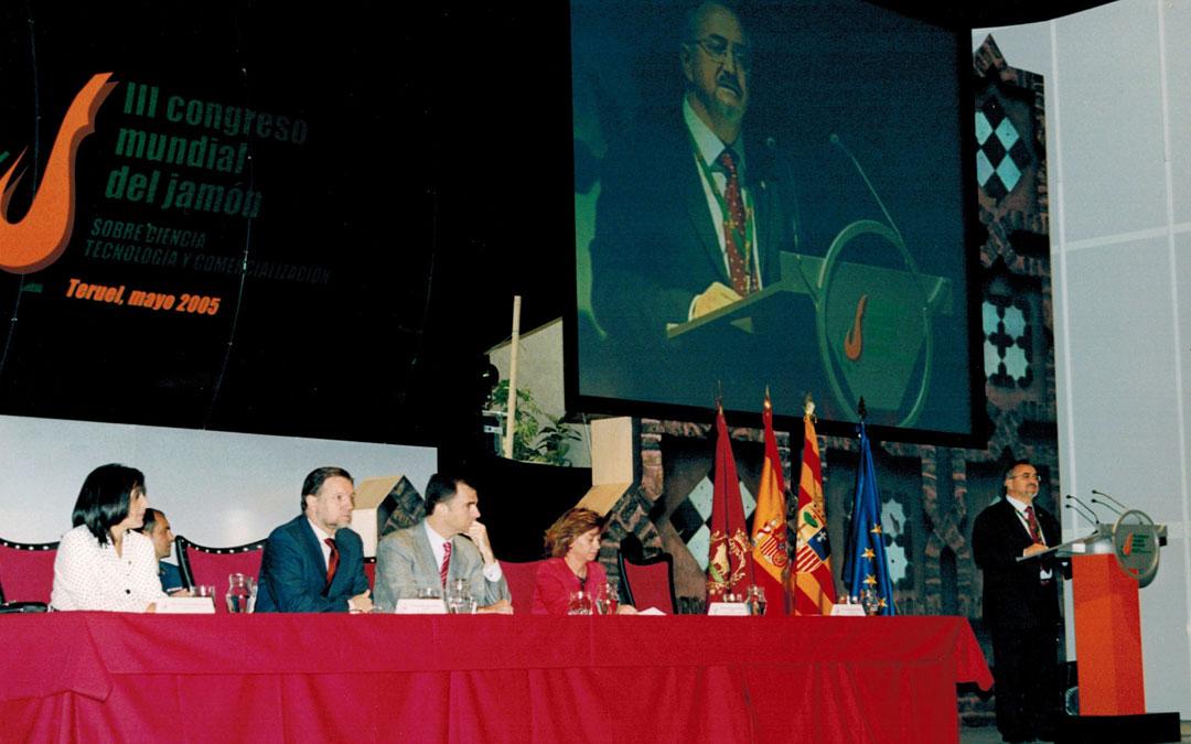 III Congreso Mundial del Jamón en 2005 presidido por el entonces Principe Felipe