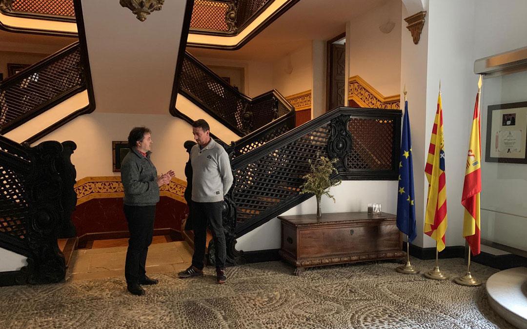 Turismo de Aragón por fin pudo recuperar la gestión de la hospedería de La Iglesuela del Cid este jueves.