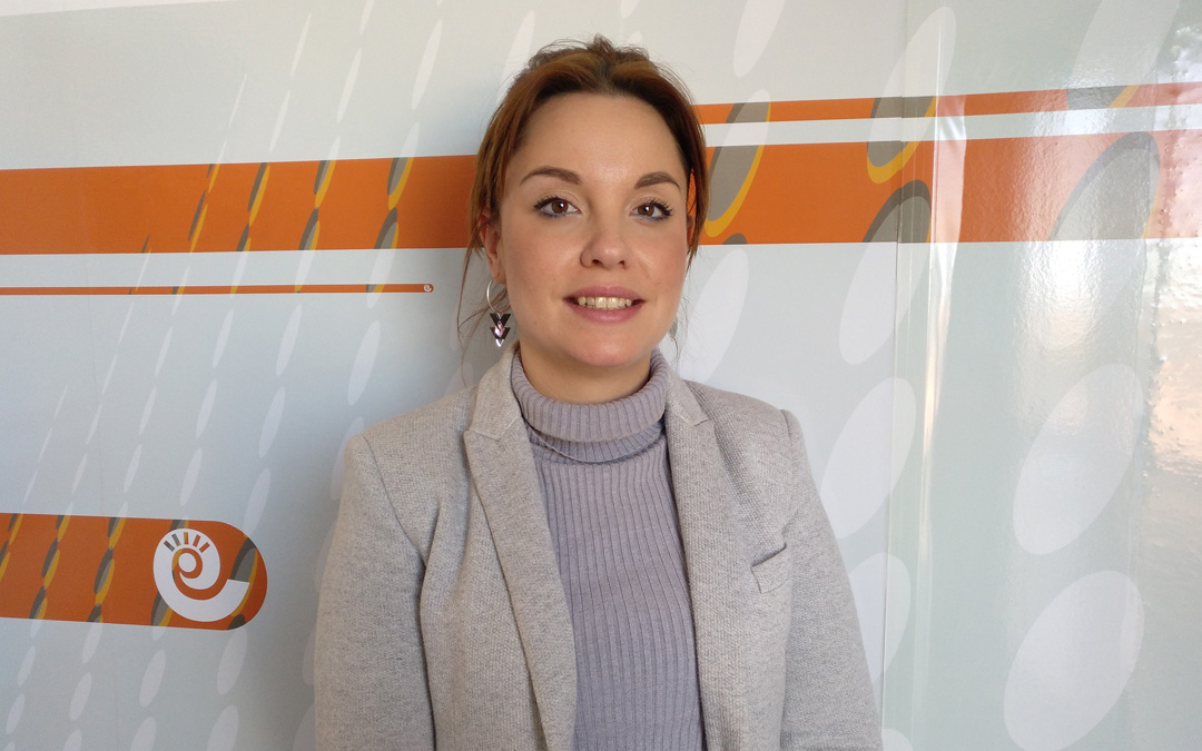 Maru Díaz, candidata de Podemos al Gobierno de Aragón, expone las alternativas ante el Cierre de la Térmica