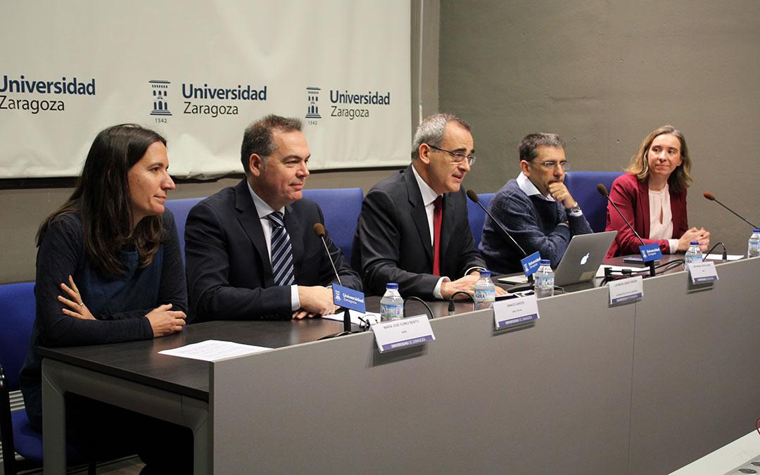 Investigadores del grupo Modelado Multiescala e Ingeniería Biológica de la Universidad de Zaragoza que van a colaborar en el Proyecto europeo Primage