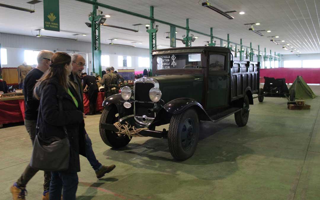 El camión Chevrolet de 1929 de la Asociación Frente de Aragón