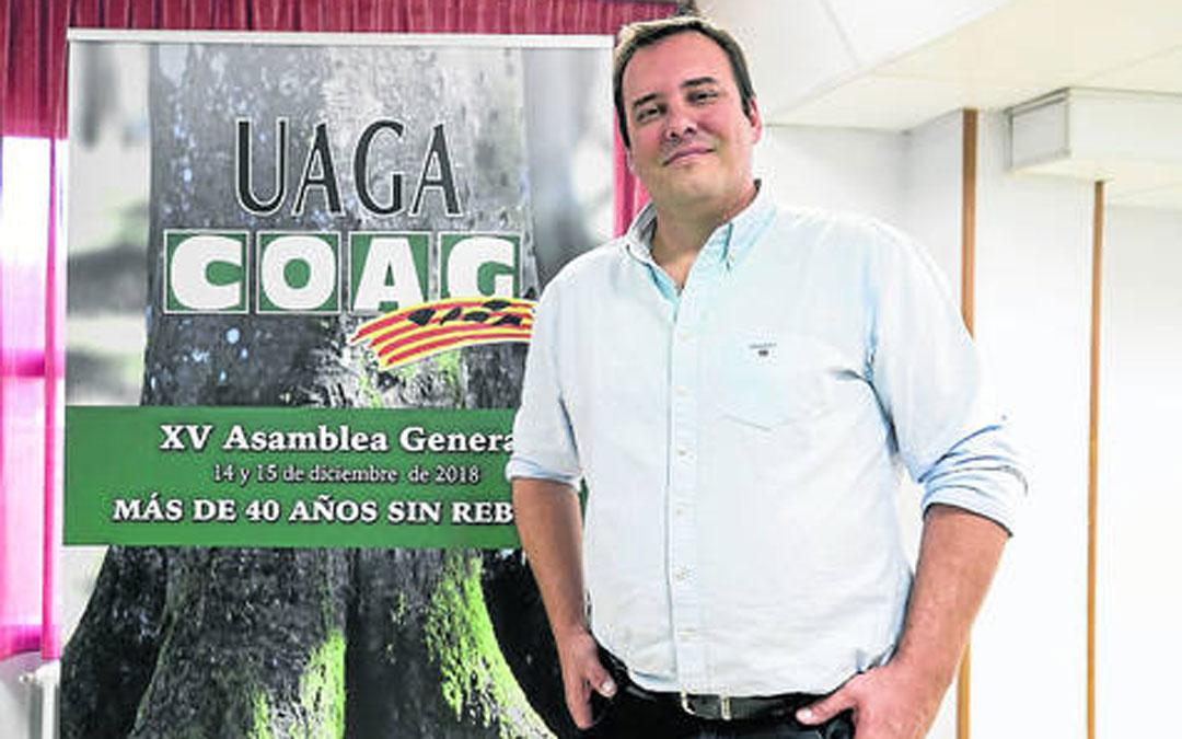 José María Alcubierre lleva unos meses como secretario general. Foto: Guillermo Mestre / Heraldo