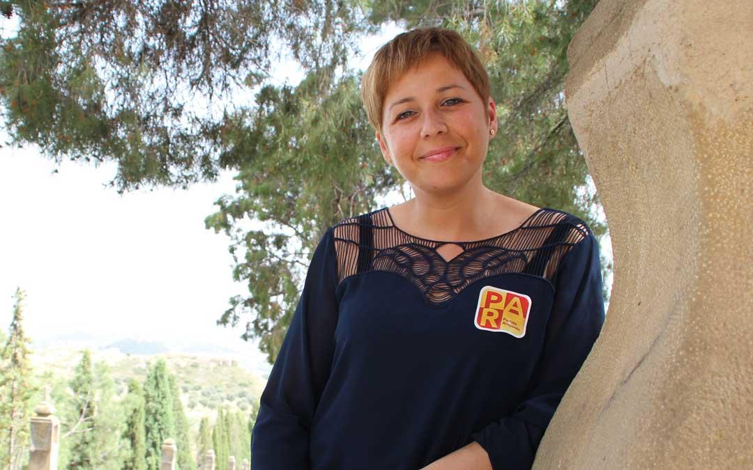 Berta Zapater es concejal de Cultura y diputada en las Cortes de Aragón