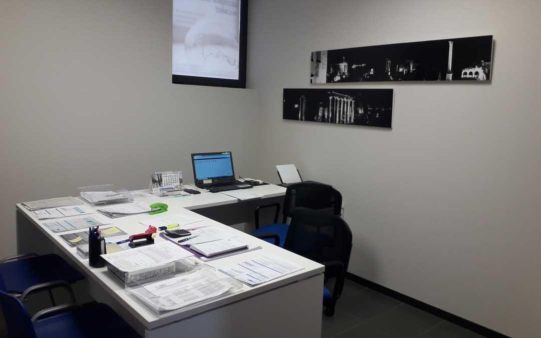 El centro de emprendedores de Alcañiz tiene dos despachos libres