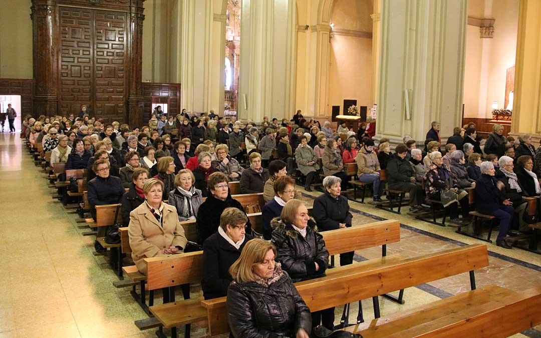 iglesia alcaniz misa santa agueda
