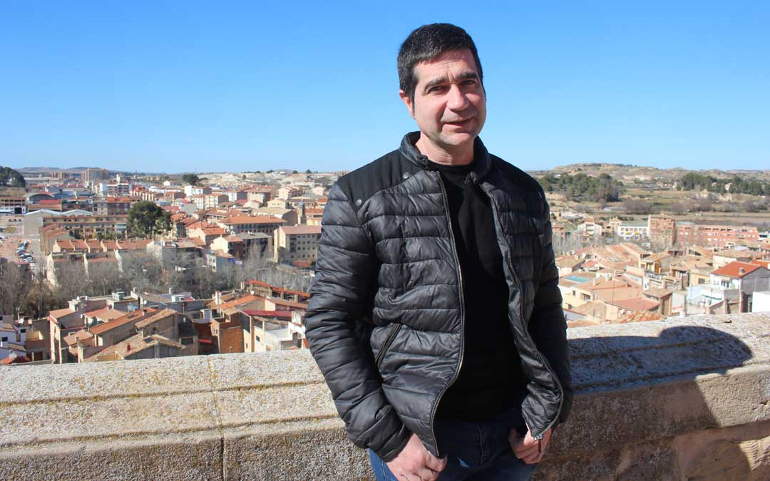 Javier Lahoz es el concejal de Promoción Económica de Alcañiz