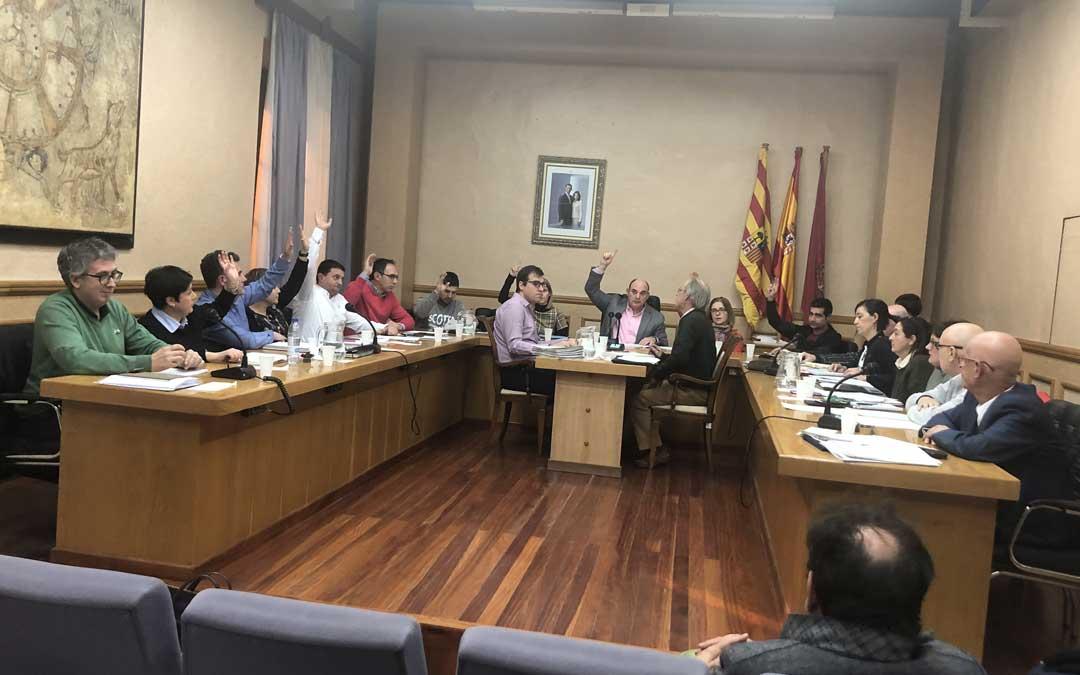 PP y PAR han votado a favor; y Ganar, PSOE y C's en contra