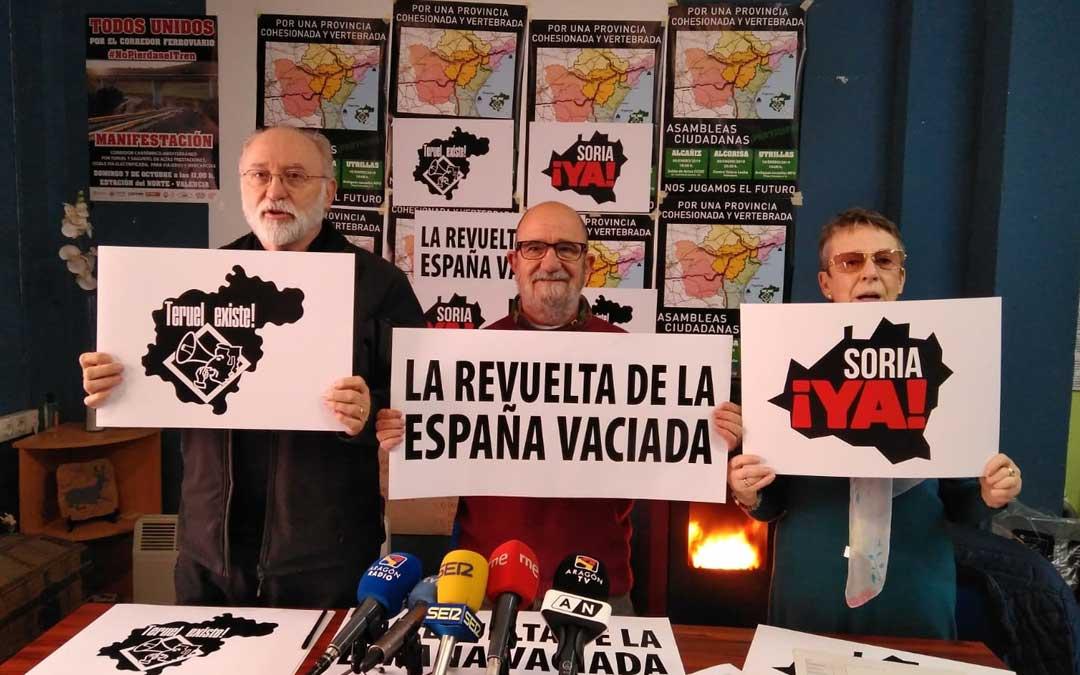 """Presentación de la """"revuelta de la España vaciada"""" este miércoles en Teruel"""