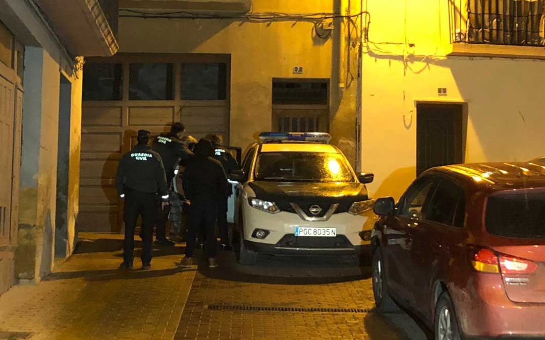 El marido de la fallecida ha sido trasladado a dependencias de la Guardia Civil para tomarle declaración