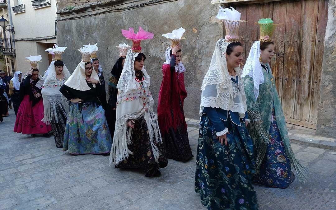El Gobierno de Aragón declara la Procesión de los Panistres de Mazaleón como Bien de Interés Cultural Inmaterial