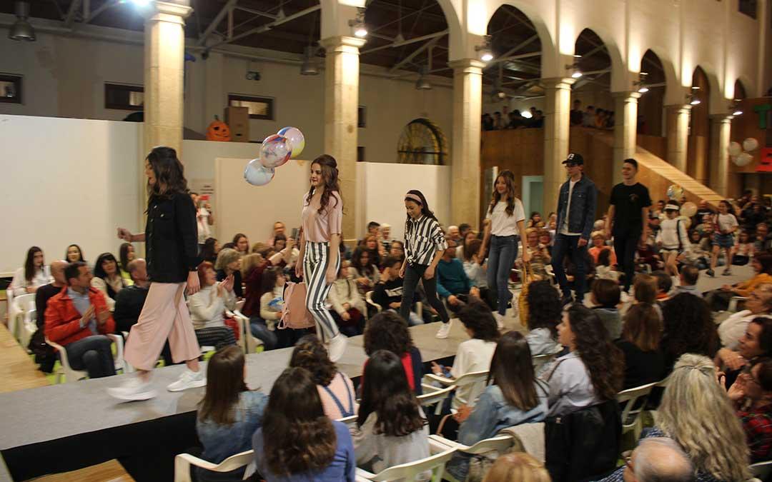 Desfile de moda en Alcañiz