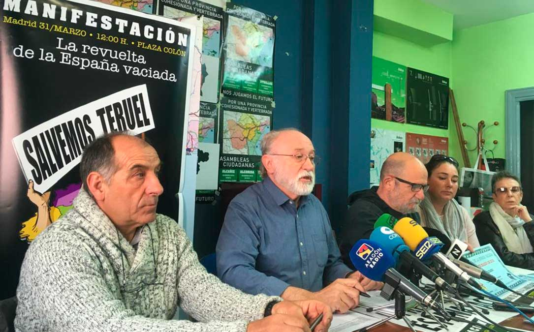 Teruel Existe asamblea Andorra