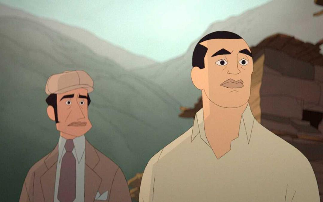 Fotogramas de la película 'Buñuel en el laberinto de las tortugas'.