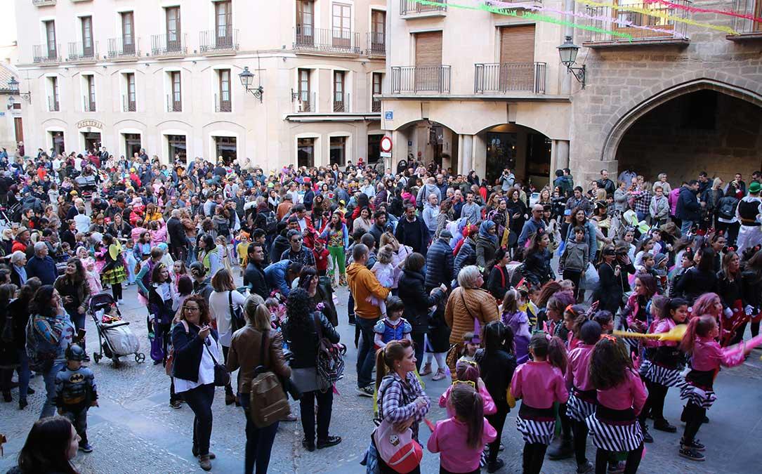 carnaval alcaniz plaza espana