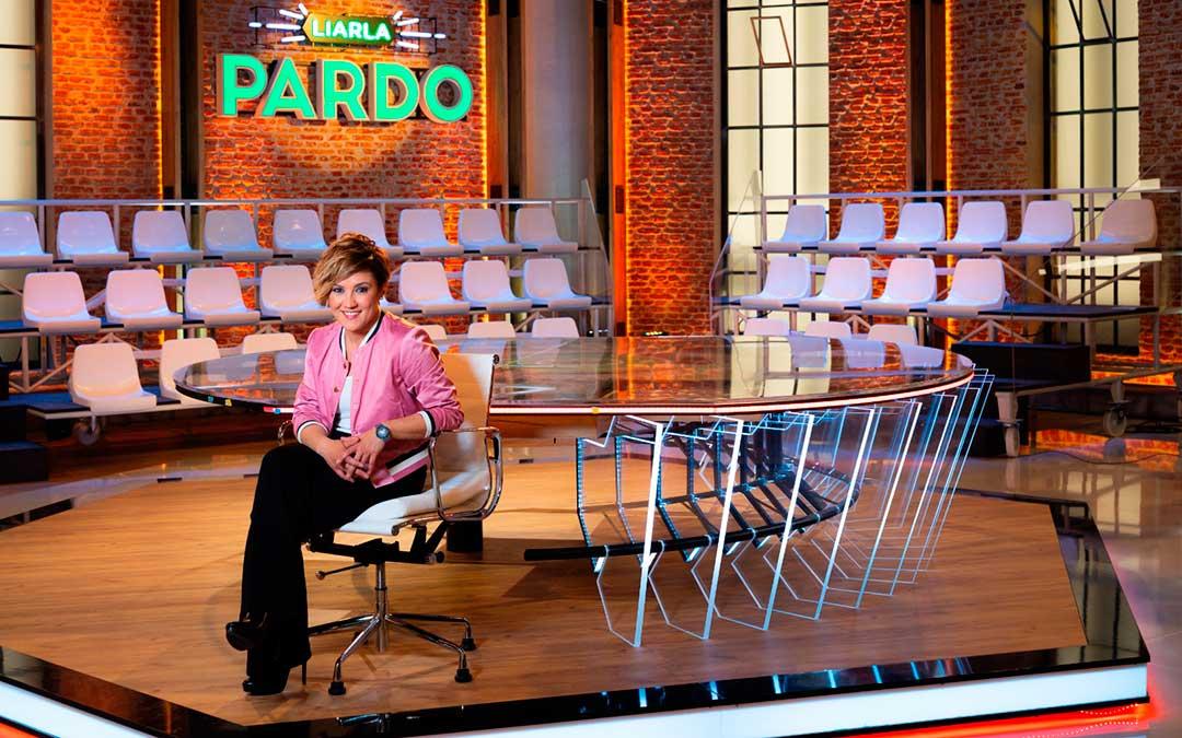 La periodista y presentadora de televisión Cristina Pardo.