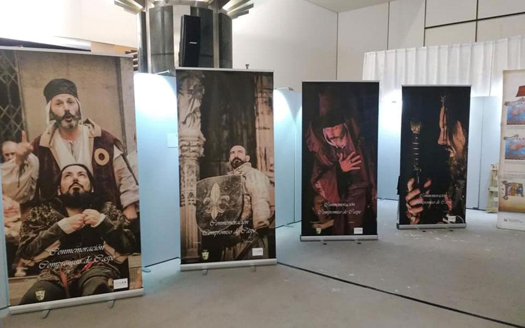 Imagen de la exposición en el Parlamento Europeo.