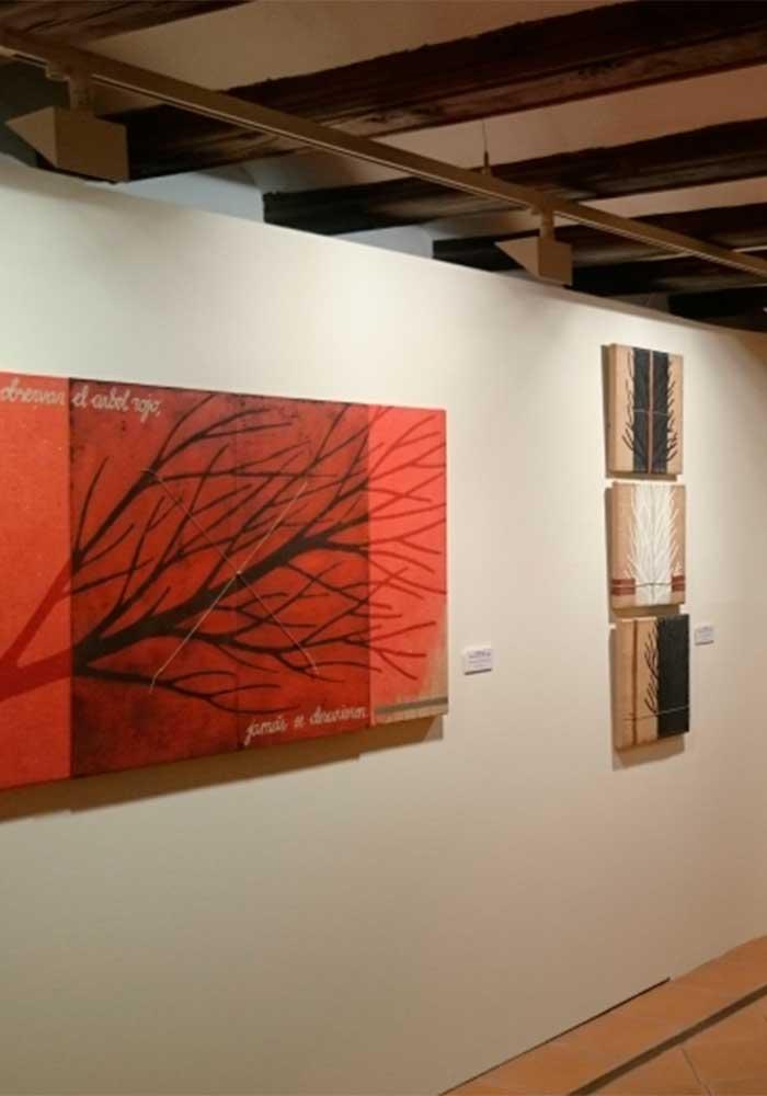 Exposición de Gema Noguera en Calaceite