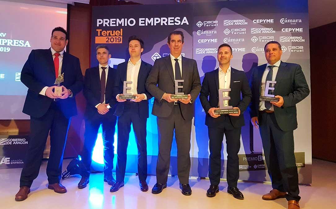 foto empresas premiadas premios empresa teruel 2019