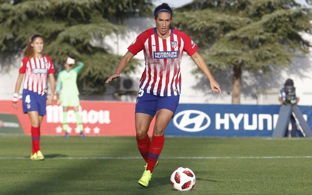 La hijarana Silvia Meseguer./ Atlético de Madrid