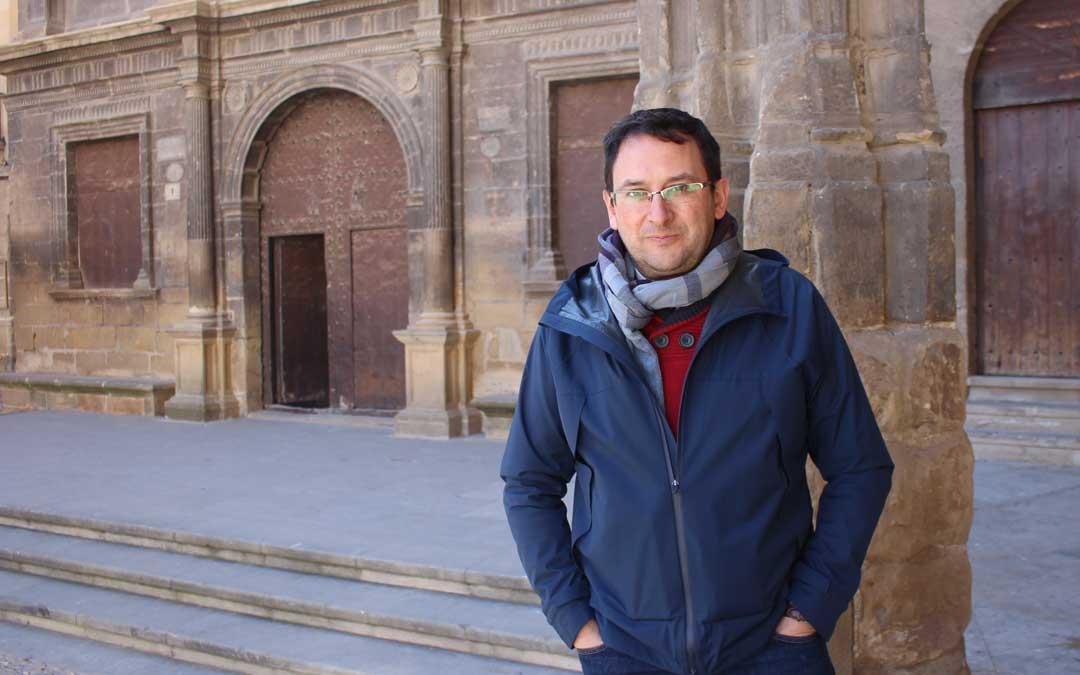 Manolo ha estado unos días en Alcañiz, localidad a la que regresará para el pregón. Foto: L. Castel