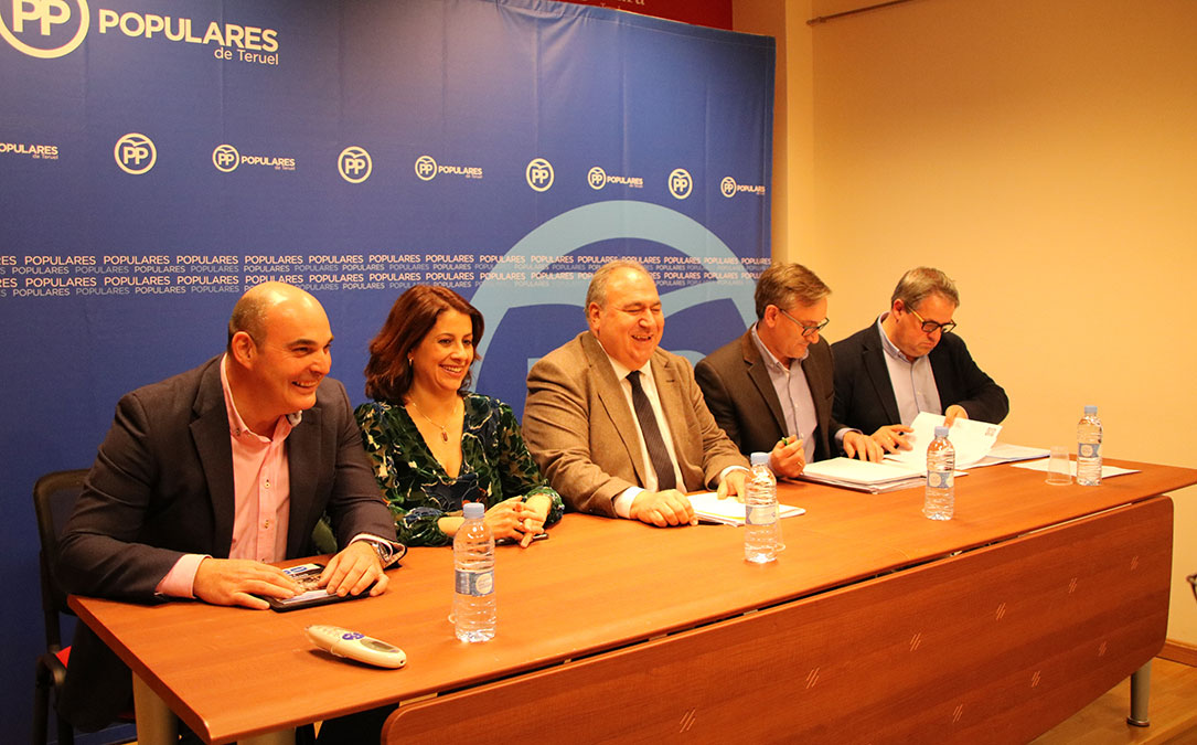 partido popular pp comite ejecutivo provincial alcaniz