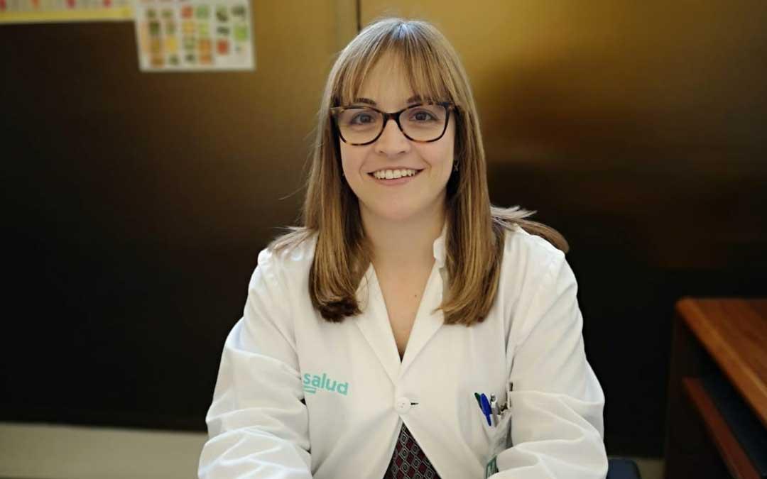 Sara Bielsa Gracia es nefróloga del Hospital de Alcañiz