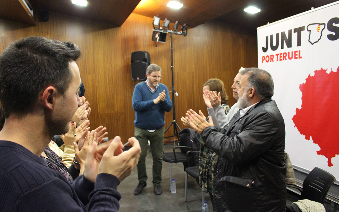 Ignacio Urquizu ejerció de anfitrión en un acto que también participaron María José Villalba, Herminio Sancho y Mayte Pérez