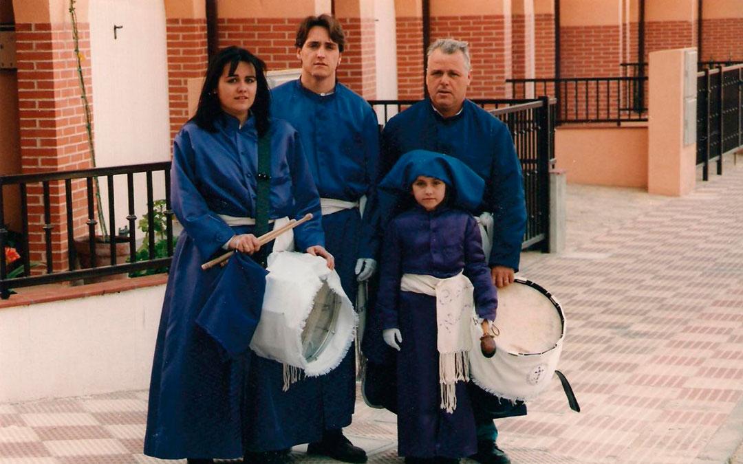 familia hernandez semana santa alcorisa domingo de ramos 1994