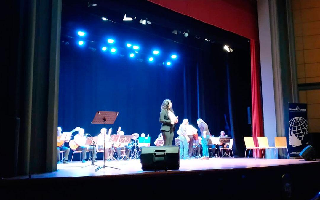 Los seis colectivos y asociaciones invitadas ofrecieron varios espectáculos de forma totalmente desinteresada en el Teatro Goya de Caspe.
