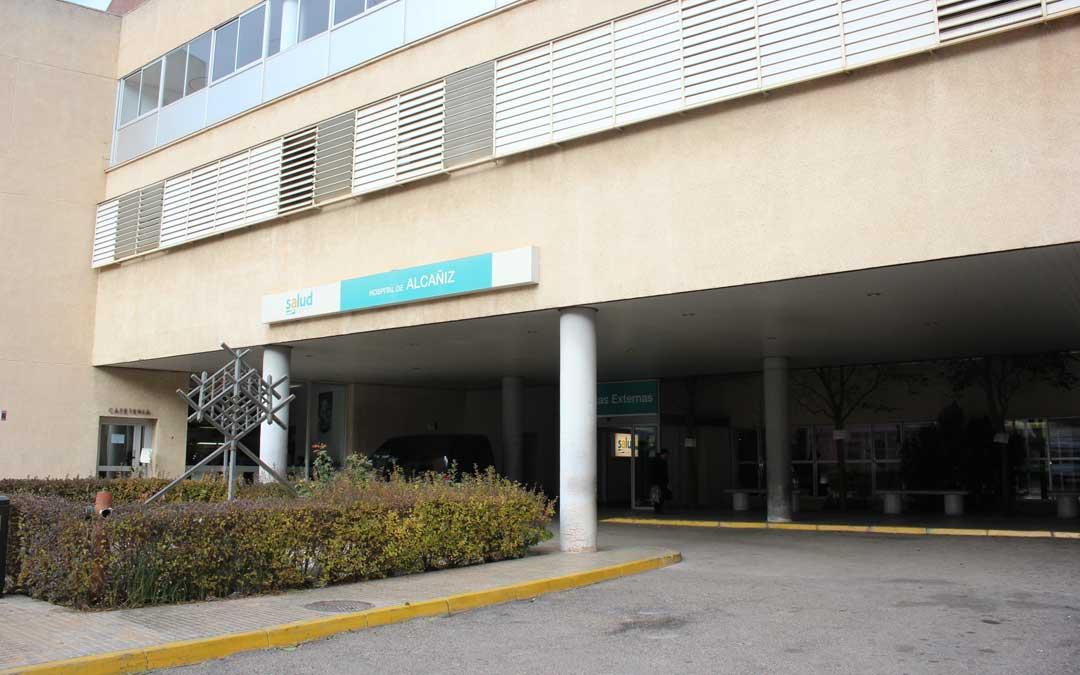 Hospital de Alcañiz./ Foto: L. Castel