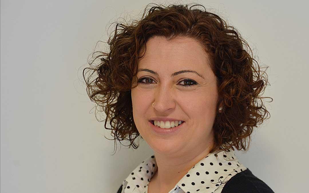 Irene Quintana es dinamizadora de la Asociación de Comerciantes de Alcañiz
