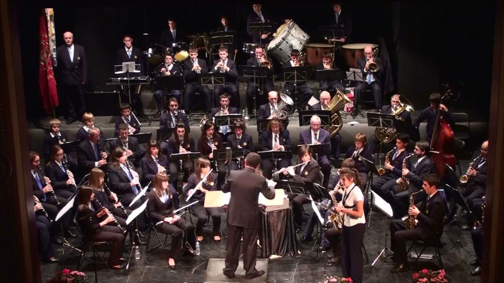 Concierto de la Lira Alcañizana en Alcañiz